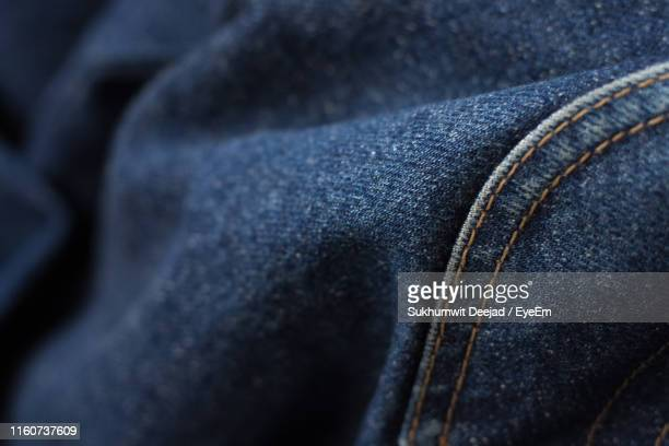close-up of jeans - denim stock pictures, royalty-free photos & images