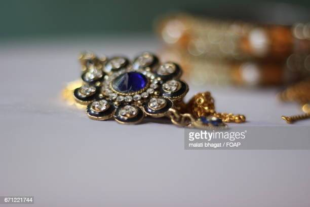 Close-up of jewellery