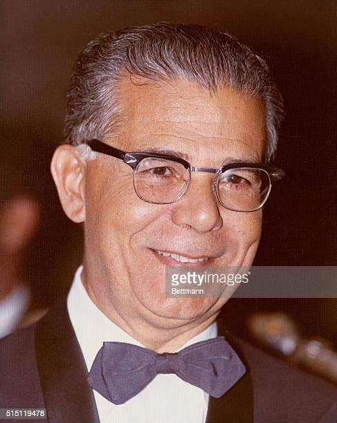 1975 Closeup of Joaquin Balaguer President of the Dominican Republic Undated color slide