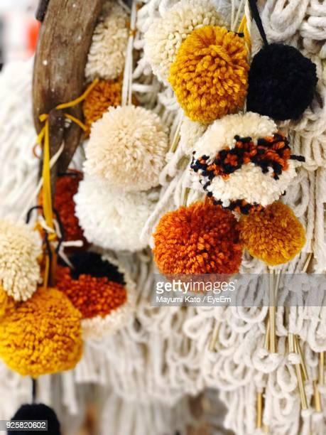 Close-Up Of Knitted Decoration