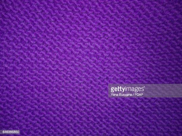 Close-up of knitted textile
