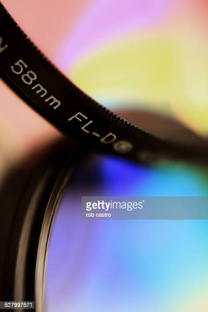 close-up of lens filter - rob castro stock pictures, royalty-free photos & images