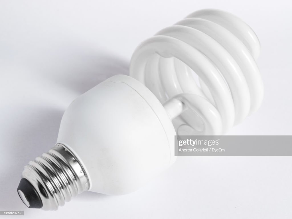 Closeup Of Light Bulb On White Background High Res Stock Photo Images, Photos, Reviews