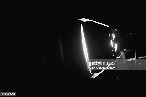 close-up of lit studio light - film studio stock pictures, royalty-free photos & images