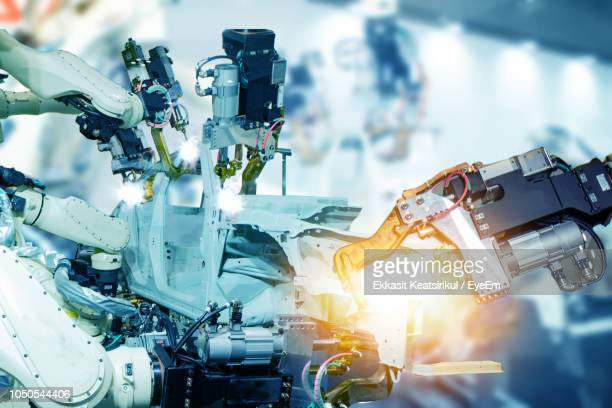 close-up of machine part - automation stock pictures, royalty-free photos & images