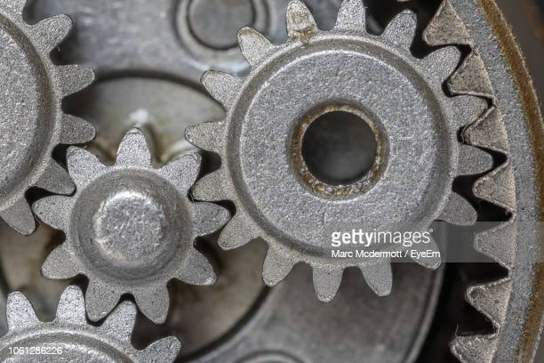close-up of machine part - gears stock pictures, royalty-free photos & images