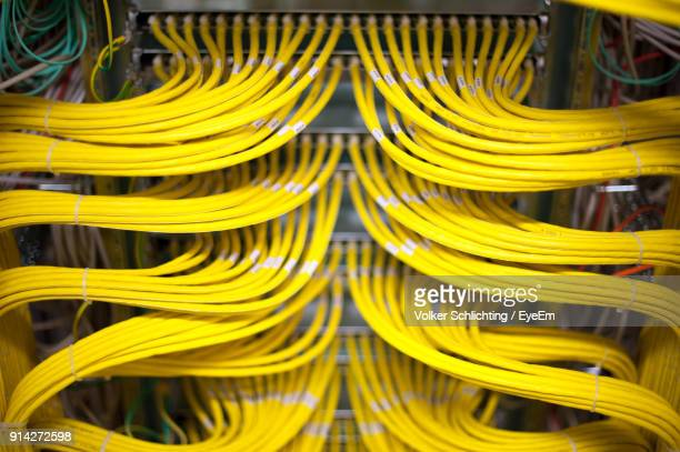 close-up of machine part - cable stock pictures, royalty-free photos & images