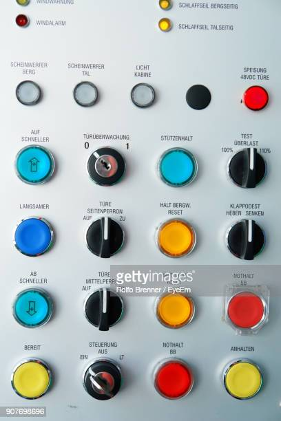 close-up of machinery in factory - control panel stock pictures, royalty-free photos & images