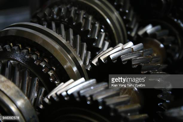close-up of machinery - gear stock pictures, royalty-free photos & images