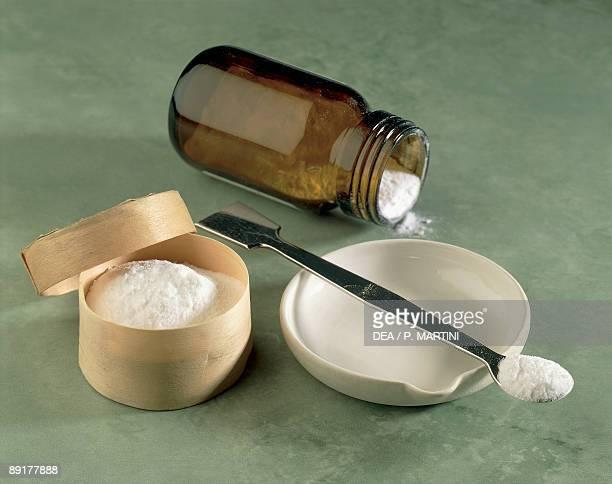 Close-up of magnesium salt