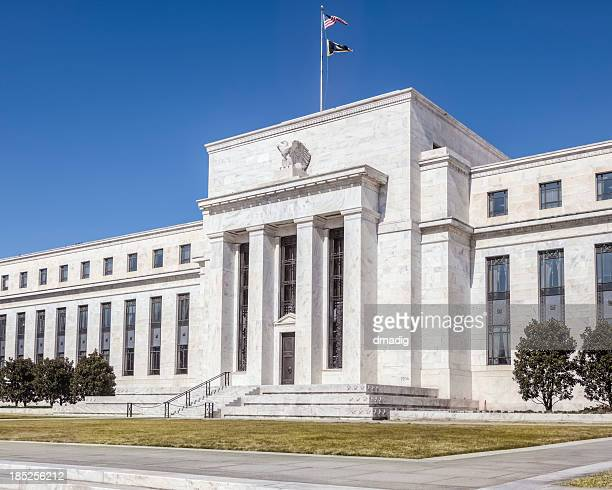 Close-up of magnificent United States Federal Reserve