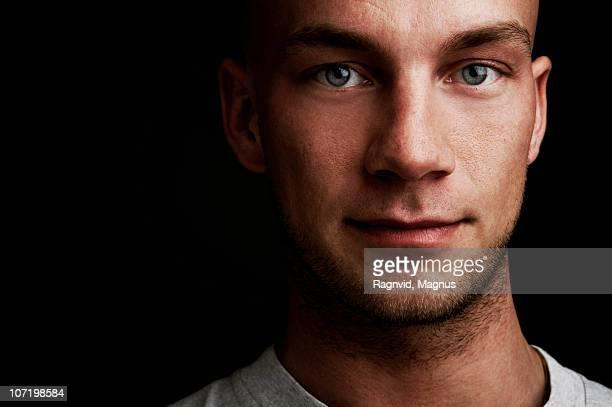 Close-up of man