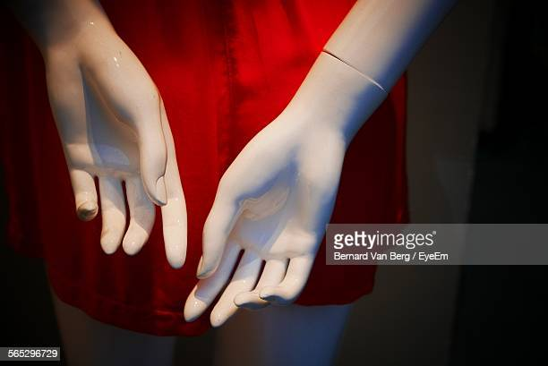 Close-Up Of Mannequin Hands