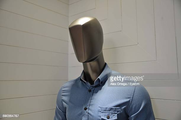 Close-Up Of Mannequin In Store