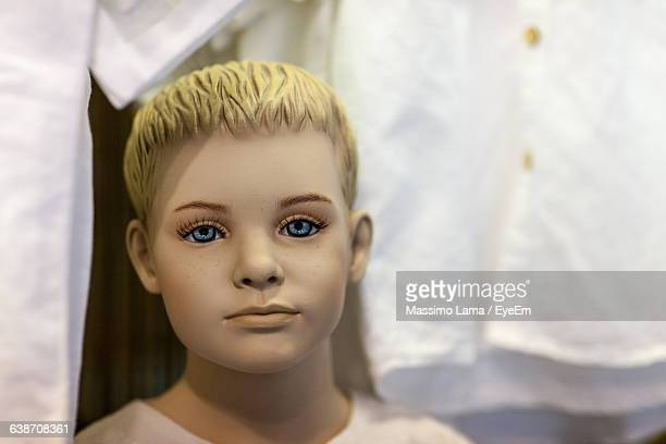 close-up of mannequin - male likeness stock pictures, royalty-free photos & images