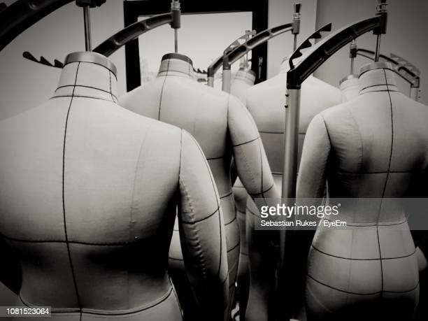 close-up of mannequins in store - male likeness stock pictures, royalty-free photos & images