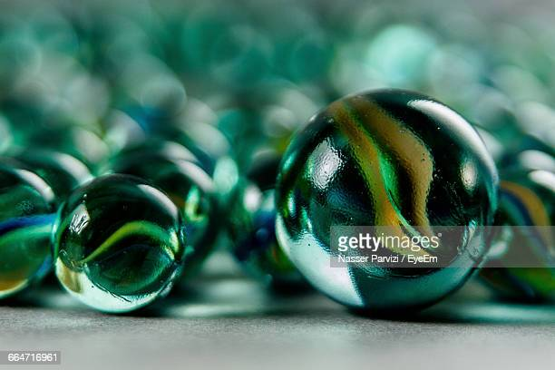 Close-Up Of Marbles