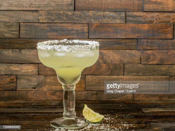 close-up of margarita on table - margarita stock pictures, royalty-free photos & images
