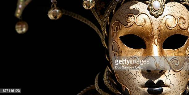 Close-Up Of Masquerade Mask