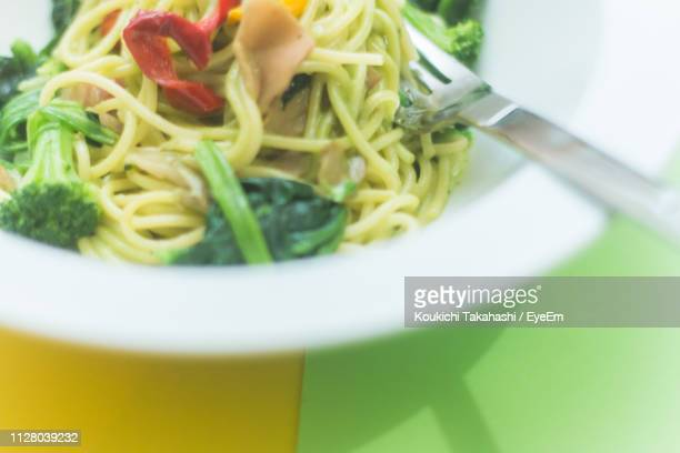 Close-Up Of Meal Served In Bowl On Table
