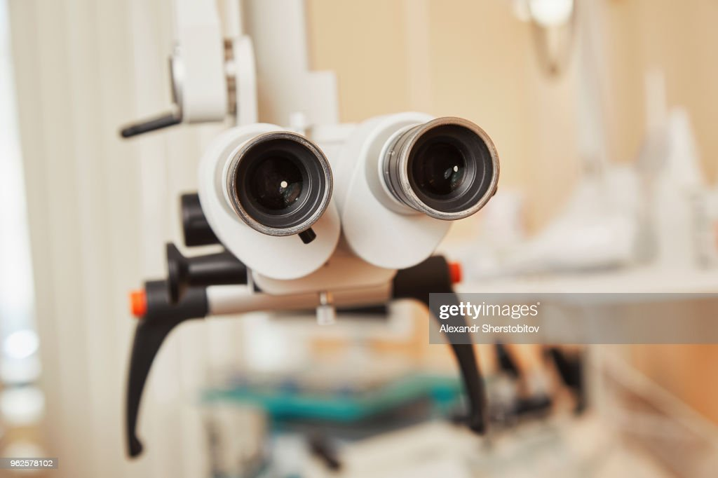 Close-up of medical equipment in hospital : Stock Photo