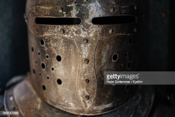Close-Up Of Medieval Knight Armor