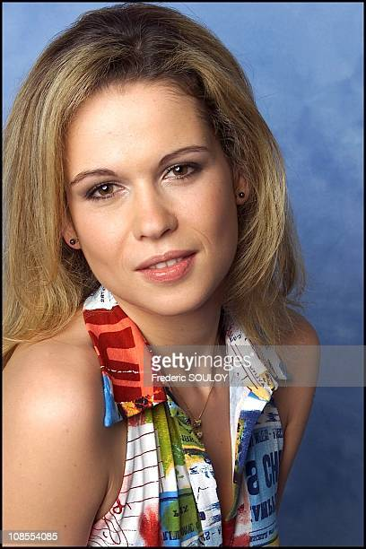 Closeup of Melanie Coste in Paris France on May 02nd 2002