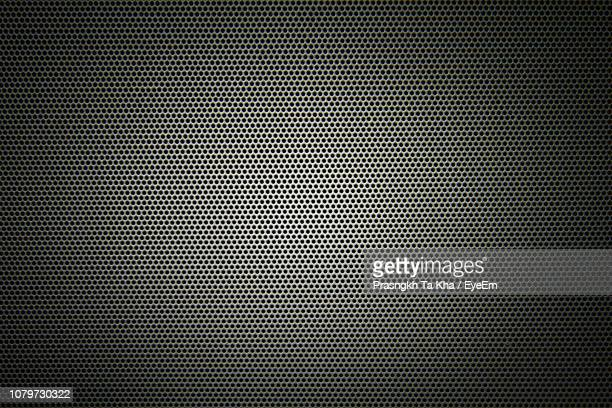 close-up of metal grate - chrome stock photos and pictures