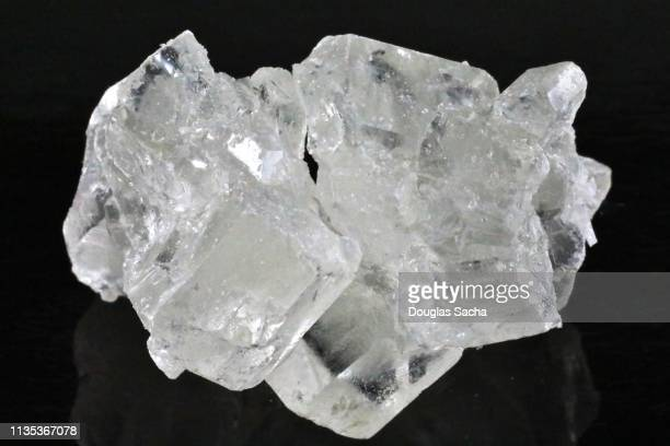 close-up of methamphetamine crystal rock - methamphetamine stock pictures, royalty-free photos & images