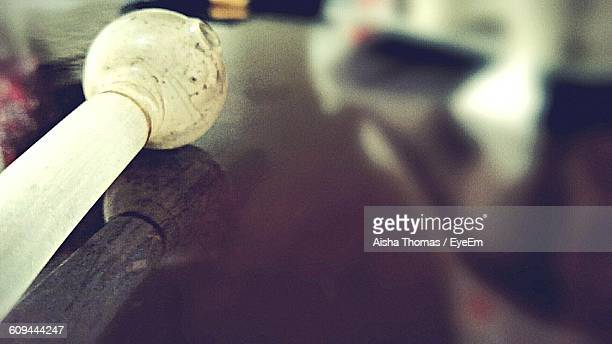 Close-Up Of Methamphetamine Pipe On Table