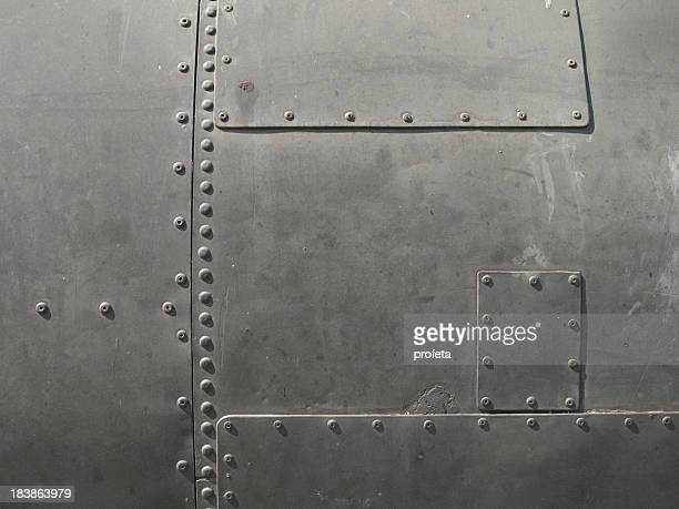 close-up of military detail in a dark gray color - armored vehicle stock pictures, royalty-free photos & images