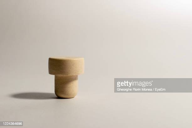 close-up of minimalistic object on table against white background - treviso italy stock pictures, royalty-free photos & images