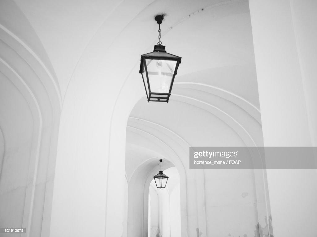 Close-up of modern lamp : Stock Photo