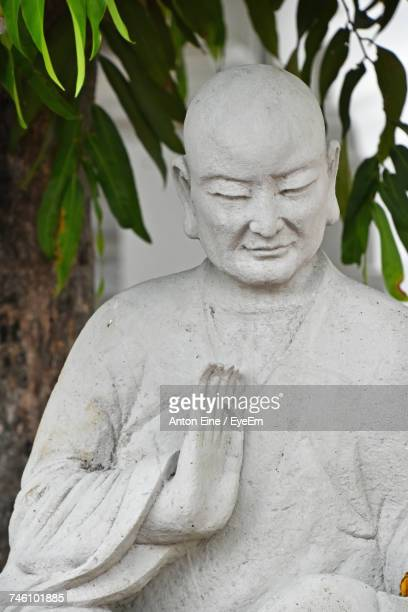 Close-Up Of Monk Statue