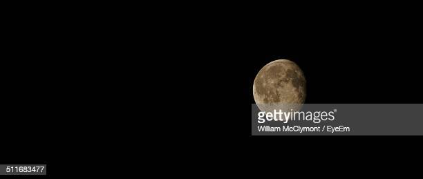 close-up of moon over dark surface - william moon stock pictures, royalty-free photos & images