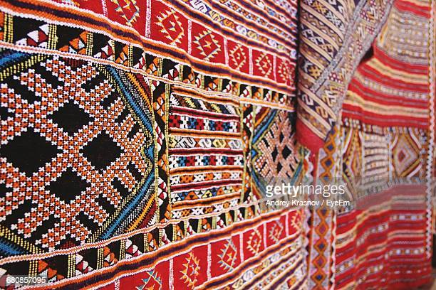 Close-Up Of Moroccan Carpet