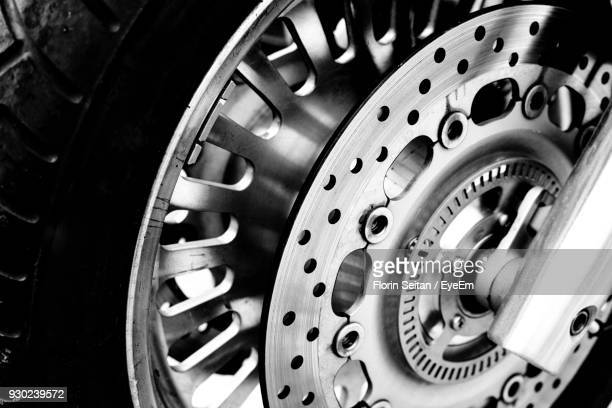close-up of motorcycle wheel - florin seitan stock pictures, royalty-free photos & images