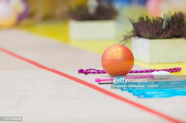 close-up of multi colored decoration on table - cetkauskas stock pictures, royalty-free photos & images