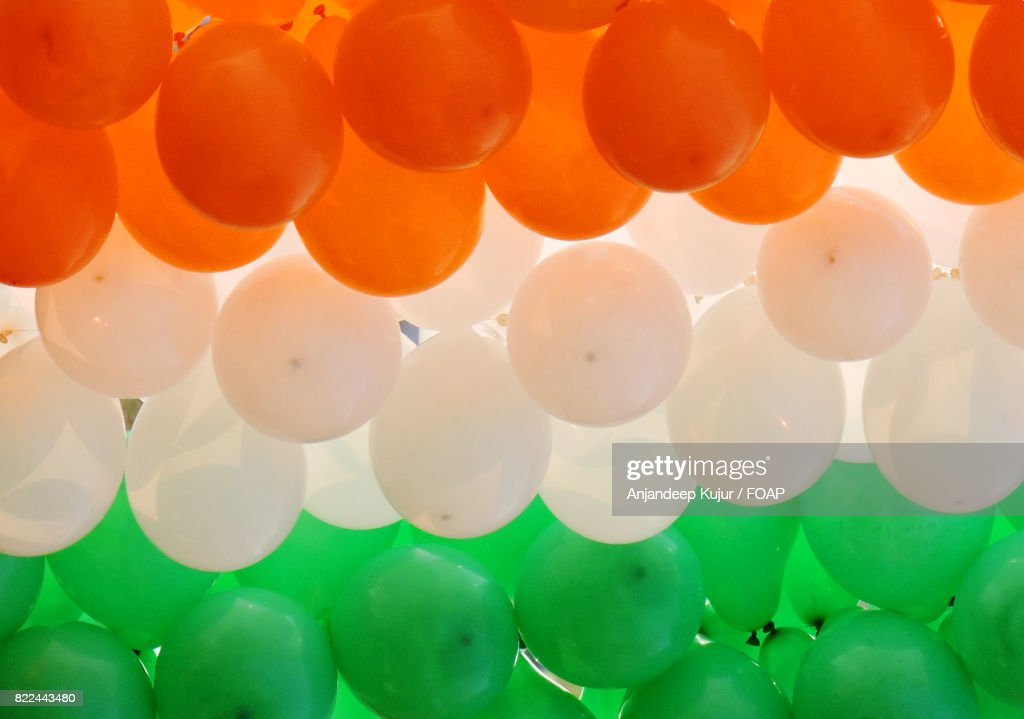 Close-up of multicolored balloons : ストックフォト