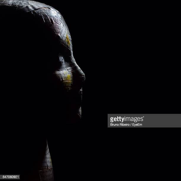 close-up of mummified person - mummy - fotografias e filmes do acervo