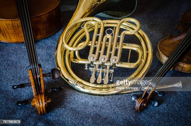 Close-Up Of Musical Instruments