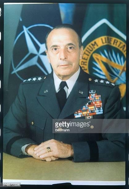 Closeup of Nato Chief General Lyman Lemnitzer