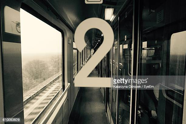 close-up of number 2 on glass in train - number 2 stock pictures, royalty-free photos & images