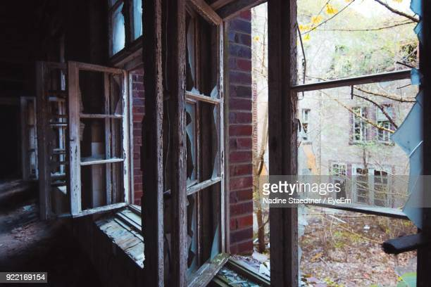 Close-Up Of Old Abandoned House