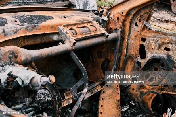 close-up of old rusty car - weathered stock pictures, royalty-free photos & images
