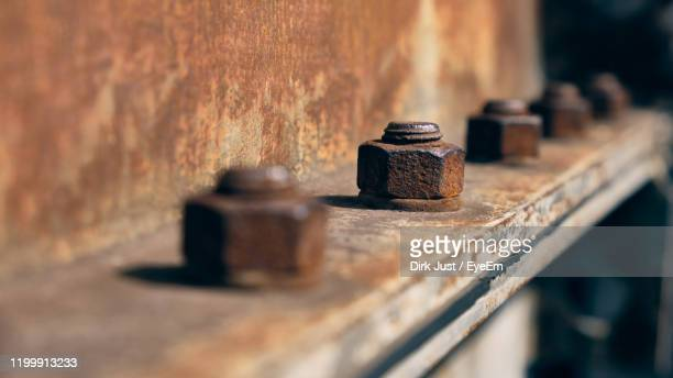 close-up of old rusty metal - weathered stock pictures, royalty-free photos & images