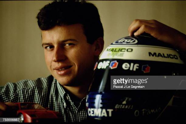 CloseUp Of Olivier Panis Formula 3000 Driver