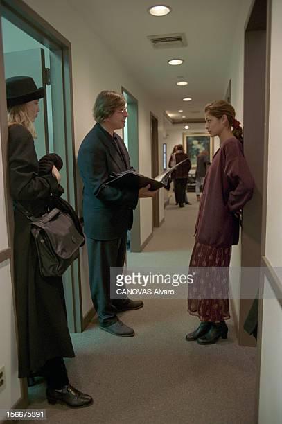 Closeup Of On John Casablancas Founder Of The Elite Modelling Agency In New York United States A NewYork le 25 février 1994 Le fondateur de l'agence...