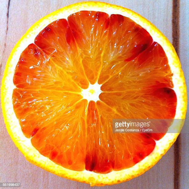 Close-Up Of Orange Slice