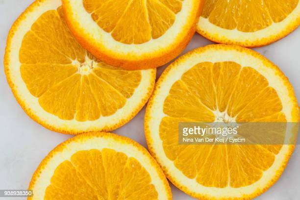 Close-Up Of Orange Slices